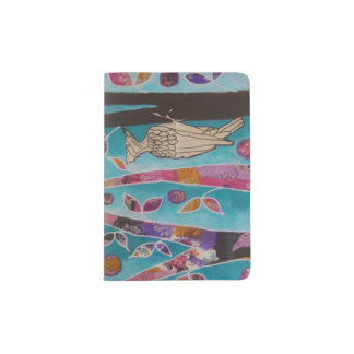 Woodpecker Music Passport Holder
