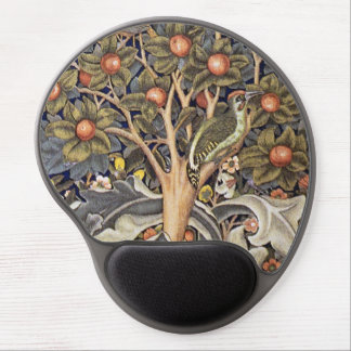 Woodpecker Tapestry by William Morris Gel Mouse Pad