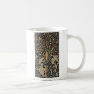 Woodpecker tapestry classic white coffee mug