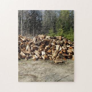 Woodpile Puzzles Con Fotos