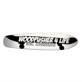 Woodpusher 4 life skate decks