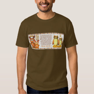 WoodRat zodiac born Gemini - Valxart Tee Shirt