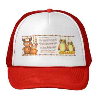 WoodRat zodiac born Gemini - Valxart Trucker Hat