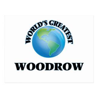 Woodrow más grande del mundo postal