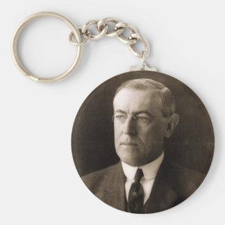 Woodrow Wilson 28 Keychain