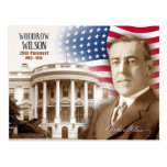 Woodrow Wilson - 28th President of the U.S. Postcards