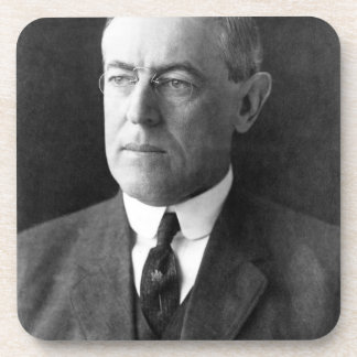 Woodrow Wilson Beverage Coaster