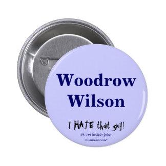 Woodrow Wilson Buttons