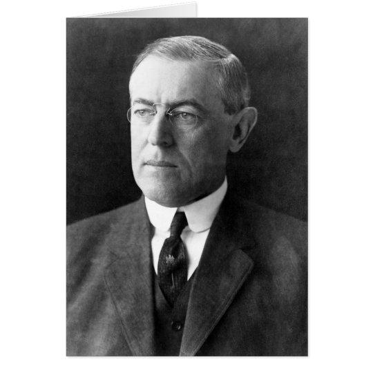 Woodrow Wilson Card