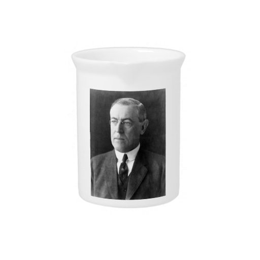 Woodrow Wilson Drink Pitcher