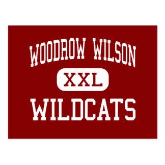 Woodrow Wilson - gatos monteses - alto - Dallas Te Postal