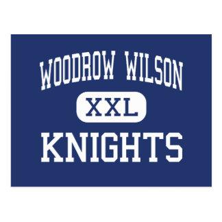 Woodrow Wilson Knights Glendale medio Tarjetas Postales