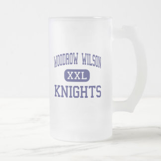Woodrow Wilson Knights Middle Glendale Frosted Glass Beer Mug