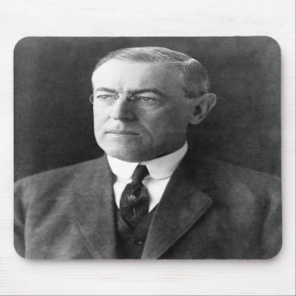 Woodrow Wilson Mouse Pads
