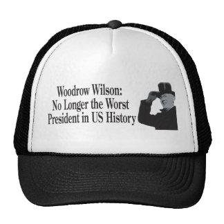 Woodrow Wilson no más el presidente peor de los E. Gorro De Camionero