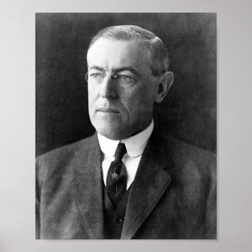 Woodrow Wilson Póster