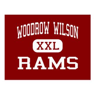 Woodrow Wilson - Rams - High - Tacoma Washington Post Card
