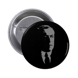 Woodrow Wilson silhouette Pinback Buttons