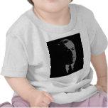 Woodrow Wilson silhouette Tee Shirts