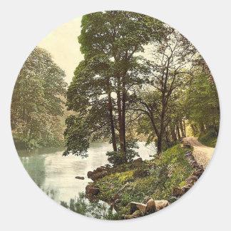 Woods, Bolton, England classic Photochrom Sticker