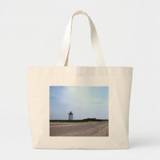Woods End Lighthouse - Provincetown, MA Jumbo Tote Bag