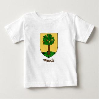 Woods Family Shield Baby T-Shirt