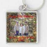 Woods Floor Family Design Key Chain Personalize