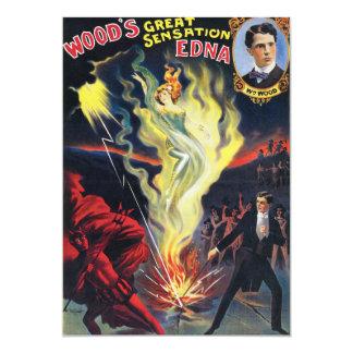 Woods Great Sensation, Edna Card