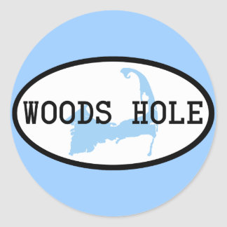Woods Hole Sticker