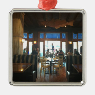Woods Hole Waterfront Christmas Ornament