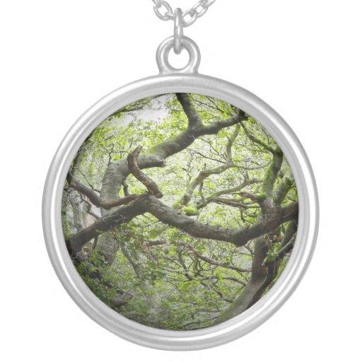 Woods in University California Berkeley Necklace