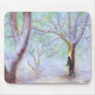 Woods in Winter, Mousepad