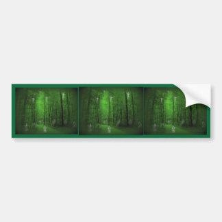 Woods of the Dead Car Bumper Sticker