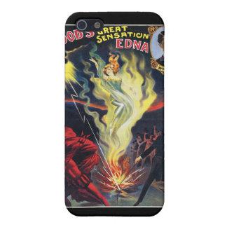 Wood's ~ Sensation Edna Vintage Magic Act iPhone SE/5/5s Cover
