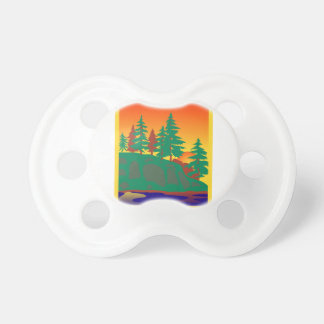 Woods & Water Scene Pacifier