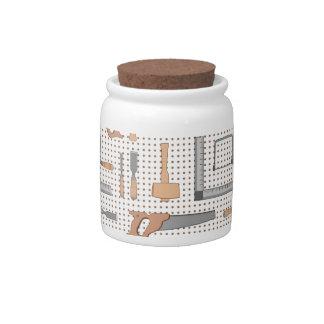 Woodshop Candy Jar