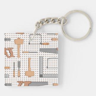 Woodshop Keychain