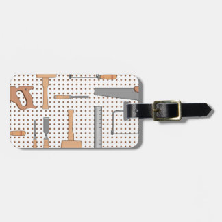 Woodshop Luggage Tag