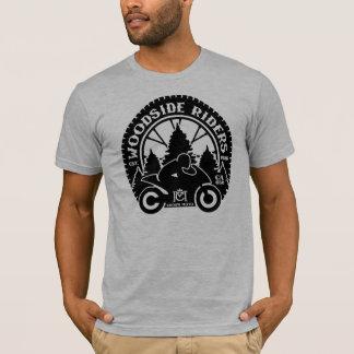 Woodside Riders (crisp black - no wings) T-Shirt