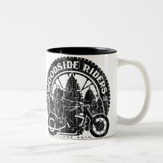 Woodside Riders Two-Tone Coffee Mug