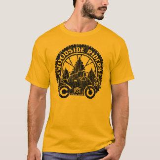 Woodside Riders (vintage black - no wings) T-Shirt
