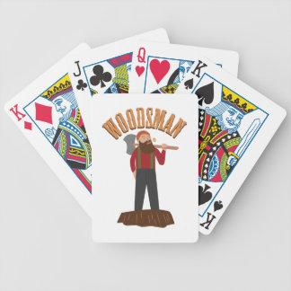 Woodsman Baraja Cartas De Poker