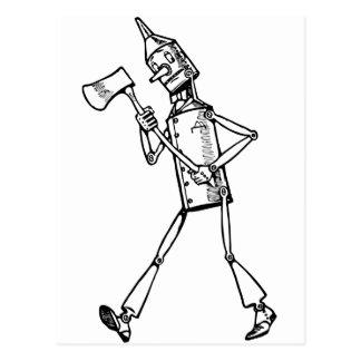 Woodsman de la lata postal