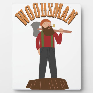 Woodsman Plaque