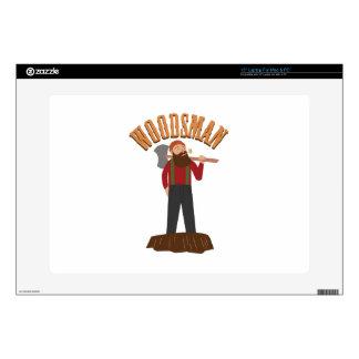 """Woodsman Skin For 15"""" Laptop"""