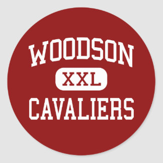Woodson - Cavaliers - High - Fairfax Virginia Sticker