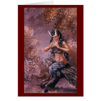 Woodsong Greeting Card