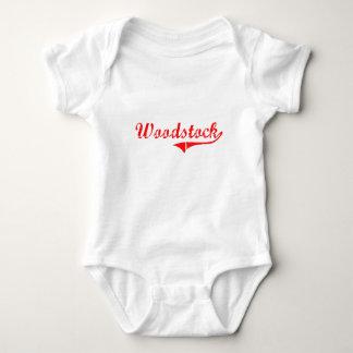 Woodstock Georgia Classic Design Baby Bodysuit
