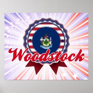 Woodstock ME Poster