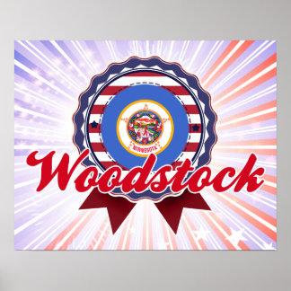 Woodstock MN Print